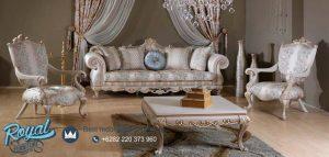 Set Sofa Tamu Mewah Living Room Set Model Terbaru