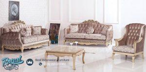 Set Sofa Tamu Mewah Model Turki Desain Terbaru