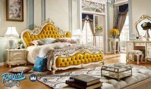 Set Tempat Tidur Mewah Bedroom Set Ukiran Mewah Terbaru
