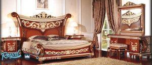 Set Tempat Tidur Mewah Klasik Design Furniture Set Terbaru