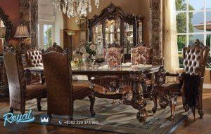 Thomasville Dining Room Set Mewah Klasik Ukiran Terbaru