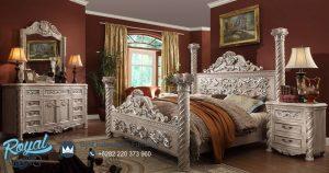 Victorian Set Bedroom Mewah Model Klasik Terbaru