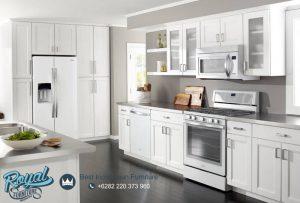 Whirpoll Kitchen Set White Duco Modern Mewah Terbaru