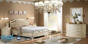 Bedroom Set Mewah Traditional Siena Bed Mewah Terbaru