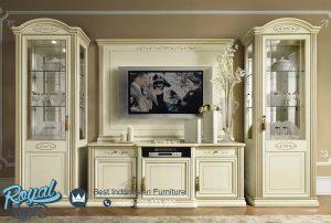 Bufet TV Set Almari Hias Europe Style Govina Terbaru