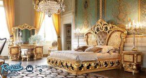 Classical Bedroom Set Mewah Ukiran Model Kamar Terbaru