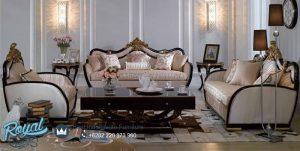French Kursi Sofa Set Design Modern Mewah Terbaru