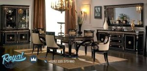 Furniture Design Luxury Style Dining Room Sets Classic Terbaru