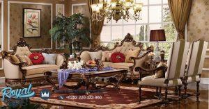 Furniture Living Room Design Klasik Ukiran Model Terbaru
