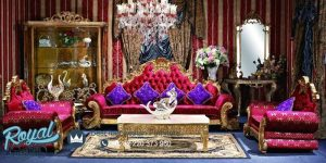 George Versailles Classic Living Room Traditional Furniture Set Terbaru