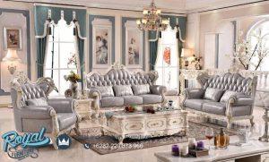 Jual Kursi Tamu Sofa Set Bianca Europe Style Mewah Terbaru