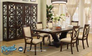 Meja Makan Set Klasik Dining Room Mewah Terbaru
