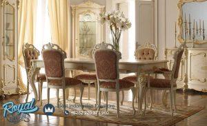 Meja Makan Set Mewah Royal Sala Modern Design Terbaru