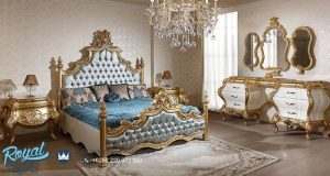 Model Bedroom Set Mewah Luks Palis Ukiran Klasik Terbaru