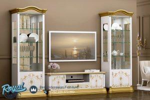 Set Bufet TV Almari Hias Modern Mewah Design Terbaru