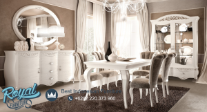 Set Furniture Dining Room Adorable Design Mewah Terbaru