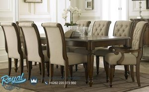 Set Furniture Meja Makan Mewah Big Set Terbaru