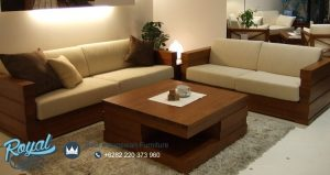Set Furniture Minimalis Kayu Jati For Living Room Set Terbaru
