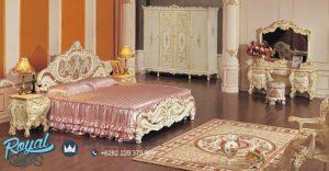 Set Kamar Tidur Mewah Klasik Ukiran Jepara Terbaru