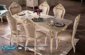 Set Kursi Meja Makan Mewah Simple Klasik Terbaru