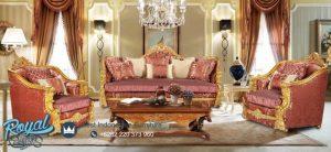 Set Kursi Tamu Sofa Mewah Ukiran Terbaru Klasik Mespaya
