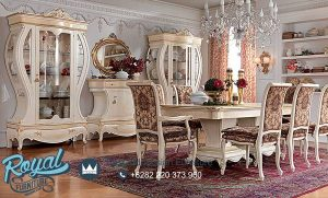 Set Meja Makan Mewah Napoleone Design Klasik Terbaru