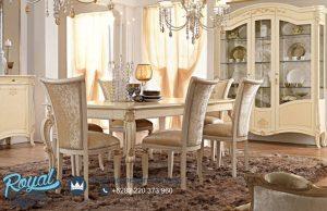 Set Meja Makan Mewah Prestige Model Klasik Terbaru
