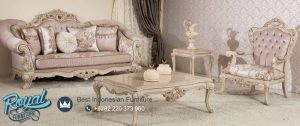 Set Sofa Tamu Mewah Leather Jepara Set Model Terbaru