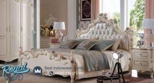 Set Tempat Tidur Mewah Dipan Bed Ukiran Terbaru