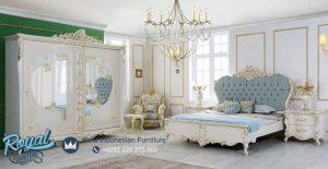Set Tempat Tidur Mewah Elena Modern Design Terbaru