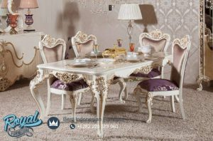 Weymo Dining Room Set Model Klasik Mewah Terbaru