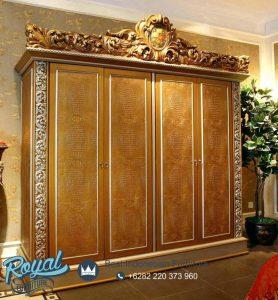 Almari Pakaian Mewah Rococo Furniture Klasik Model Terbaru