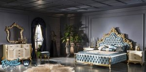Contoh Set Furniture Kamar Tidur Mewah Model Klasik Terbaru