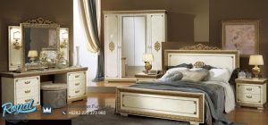 Jual Bedroom Mewah White Impero Set Furniture Terbaru