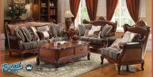 Jual Furniture Luxury Sofa Tamu Set Jati Mewah Terbaru