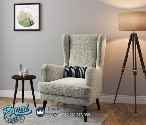 Jual Kursi Genoa Wing Chair Sofa Model Minimalis Terbaru
