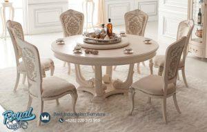 Jual Produk Furniture Ruang Makan Mewah Round Table Terbaru