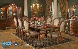Jual Produk Set Meja Makan Royal Manor Furniture Mewah Terbaru