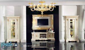Jual Set Bufet TV Mewah Model Italian Furniture Mewah Terbaru