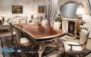 Jual Set Meja Makan Luxury Dining Room Set Mewah Terbaru