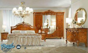 Jual Set Tempat Tidur Mewah Kayu Jati Terbaru Klasik