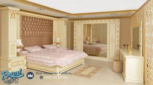 Kamar Set Classic Model Terbaru Furniture Bedroom Set