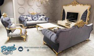 Model Set Sofa Tamu Mewah Model Terbaru New Design