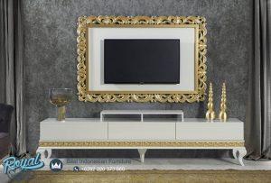 Set Bufet TV Benzi Mewah Minimalis Modern Terbaru