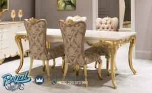 Set Dining Room Klasik Mewah Model Modern Terbaru