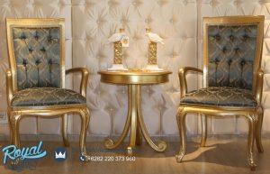Set Sofa Teras Berjer Gold Modeste Mewah Terbaru