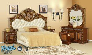 Aimee Bedroom Set Mewah Jati Klasik Mewah Terbaru