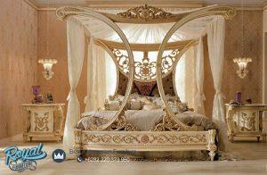 Contoh Set Tempat Tidur Mewah Ukiran Jepara Terbaru