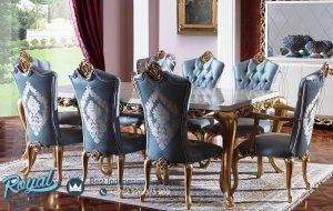 Dining Room Set Mewah Royal Palace Klasik Mewah Terbaru