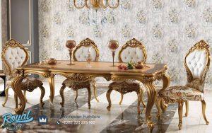 Jual Dining Room Set Mewah Klasik Model Jepara Terbaru